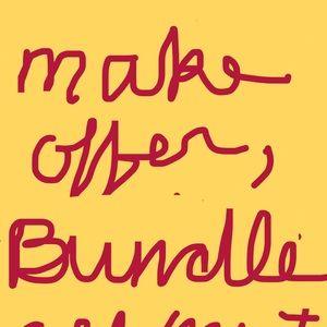 Make offer, bundle, all must go